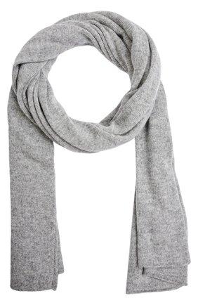 Кашемировый шарф тонкой вязки | Фото №1