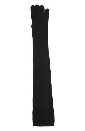 Вязаные перчатки Dolce & Gabbana черные | Фото №2