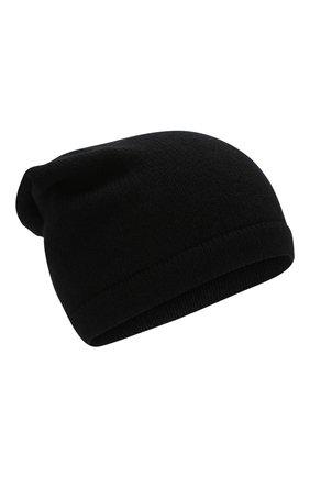 Мужская кашемировая шапка INVERNI черного цвета, арт. 2527CM | Фото 1