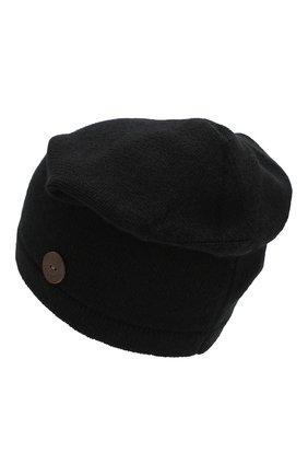 Мужская кашемировая шапка INVERNI черного цвета, арт. 2527CM | Фото 2