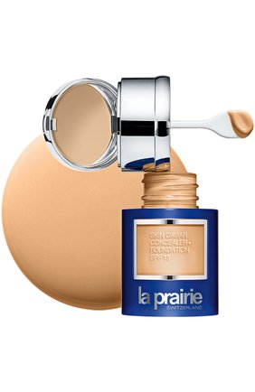 Тональный крем и корректор с экстрактом икры spf 15 peche LA PRAIRIE бесцветного цвета, арт. 7611773052665 | Фото 1