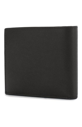 Мужской кожаное портмоне toile с отделениями для кредитных карт SAINT LAURENT черного цвета, арт. 396303/BTY0N | Фото 2