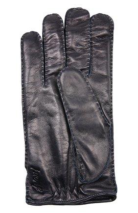 Мужские перчатки BRIONI темно-синего цвета, арт. 05R2/04752 | Фото 2
