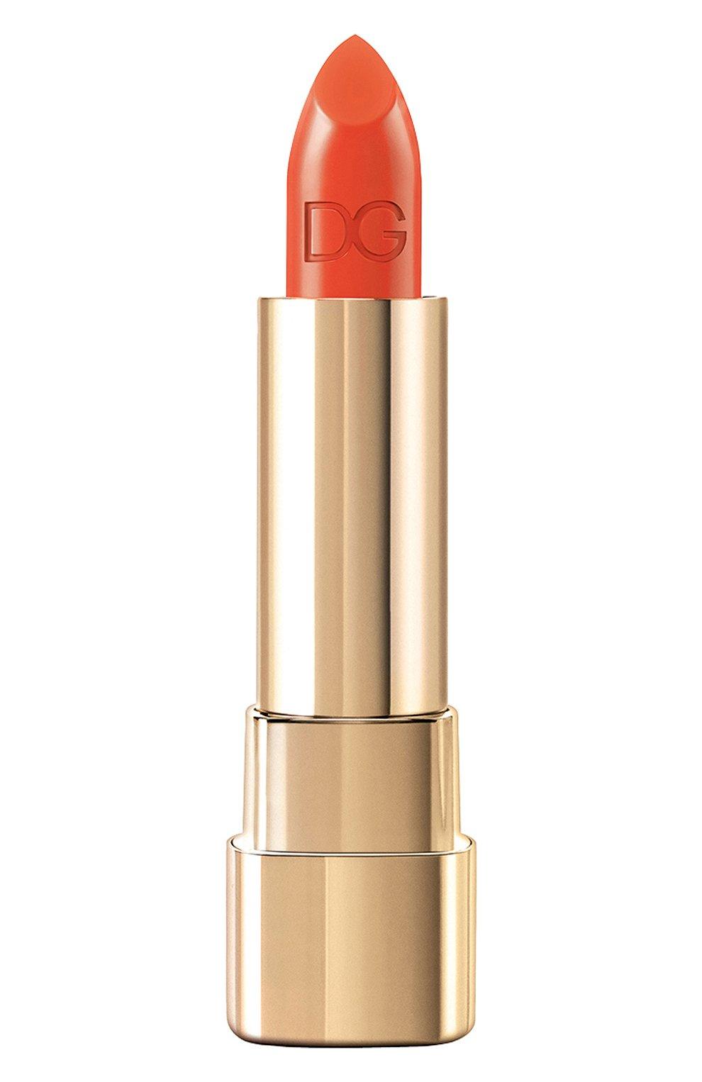 Помада для губ classic cream lipstick 415 delicious DOLCE & GABBANA бесцветного цвета, арт. 3022225DG | Фото 1