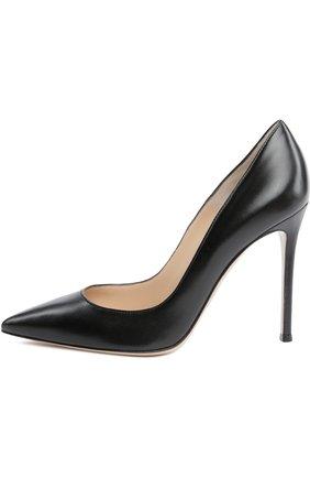 Кожаные туфли Gianvito 105 на шпильке | Фото №1