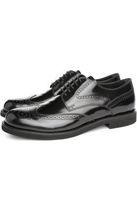 Туфли Tod's черные | Фото №2