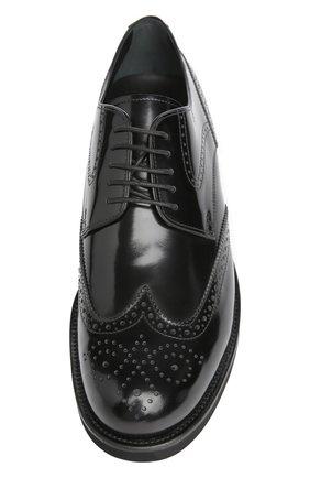 Туфли Tod's черные | Фото №4