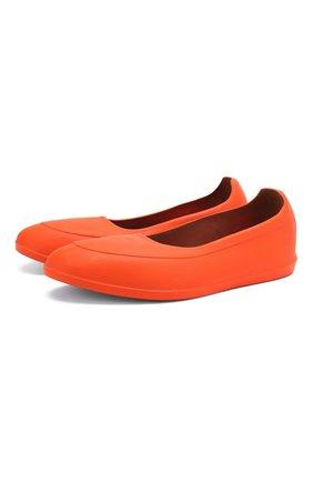 Мужские галоши SWIMS оранжевого цвета, арт. 100 | Фото 1