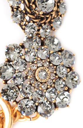 Женский браслет OSCAR DE LA RENTA серого цвета, арт. 0J219BLD | Фото 2