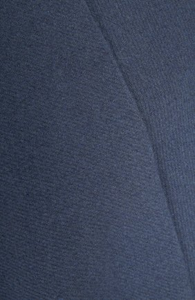 Пончо Burberry синяя | Фото №3