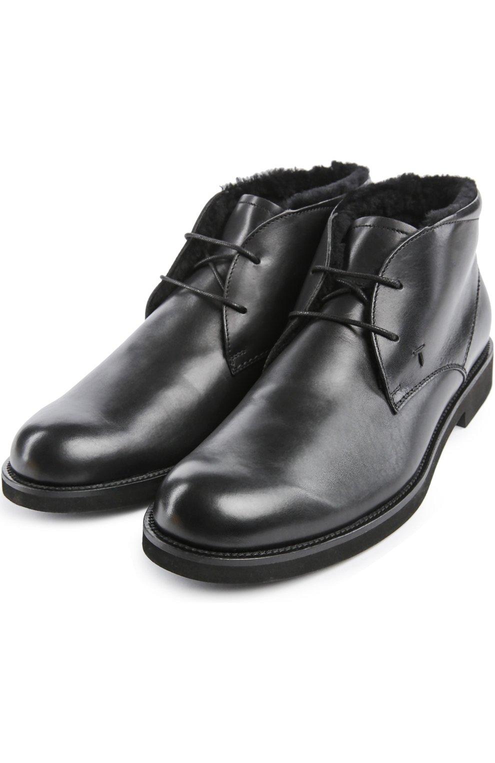Ботинки Gomma Light Wp Tod's черные | Фото №2