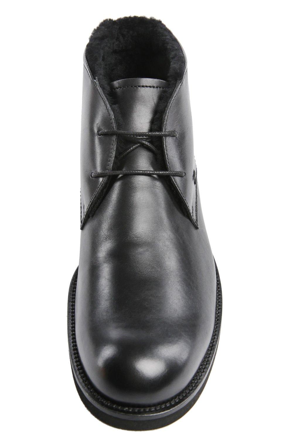 Ботинки Gomma Light Wp Tod's черные | Фото №4