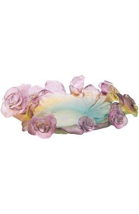 Мужского ваза для фруктов rose passion DAUM бесцветного цвета, арт. 05314 | Фото 1