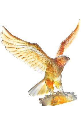 "Мужского статуэтка aigle ""eagle"" DAUM оранжевого цвета, арт. 02676-1 | Фото 1"