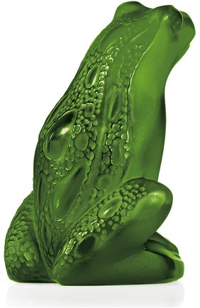 "Мужского фигурка rainette ""frog lime green"" LALIQUE зеленого цвета, арт. 3022400 | Фото 1"