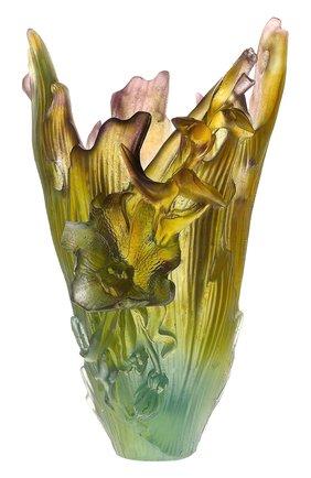 Мужского ваза cattleya DAUM бесцветного цвета, арт. 03765 | Фото 1