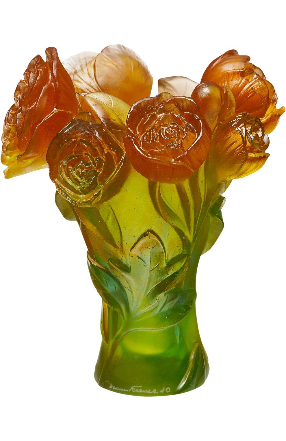 Мужского ваза pivoine DAUM бесцветного цвета, арт. 05115-2   Фото 1