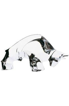 Мужского скульптура taureau BACCARAT бесцветного цвета, арт. 2 100 166 | Фото 1