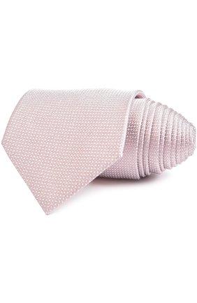Мужской галстук BRIONI светло-розового цвета, арт. 062I/P541I | Фото 1