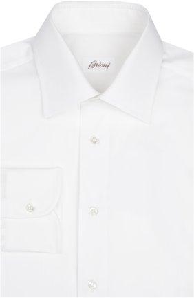 Мужская сорочка BRIONI белого цвета, арт. RCL9/PZ014 | Фото 1