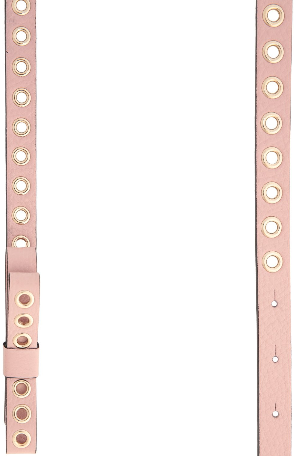 Ремень REDVALENTINO светло-розовый   Фото №2