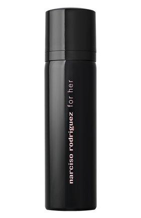 Дезодорант парфюмированный спрей for her NARCISO RODRIGUEZ бесцветного цвета, арт. 890235BP   Фото 2
