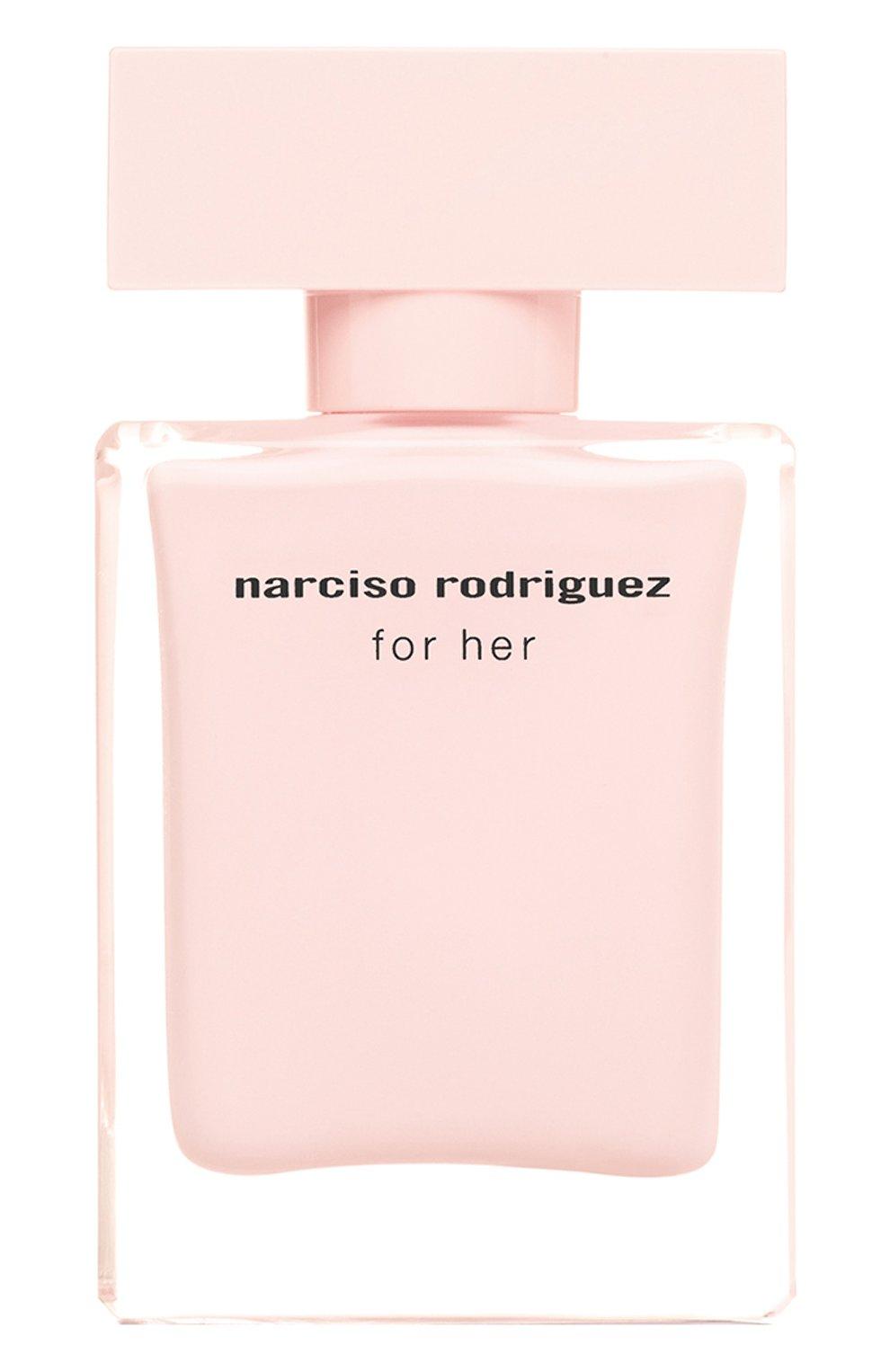 Женский парфюмерная вода for her NARCISO RODRIGUEZ бесцветного цвета, арт. 892565BP | Фото 1