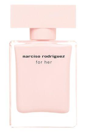 Парфюмерная вода for her NARCISO RODRIGUEZ бесцветного цвета, арт. 892565BP   Фото 1
