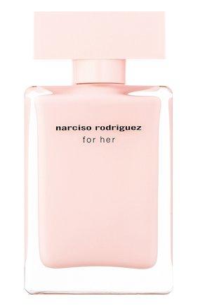 Женский парфюмерная вода for her NARCISO RODRIGUEZ бесцветного цвета, арт. 890135BP   Фото 1