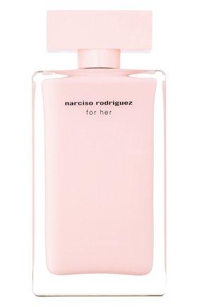 Женский парфюмерная вода for her NARCISO RODRIGUEZ бесцветного цвета, арт. 890125BP   Фото 1
