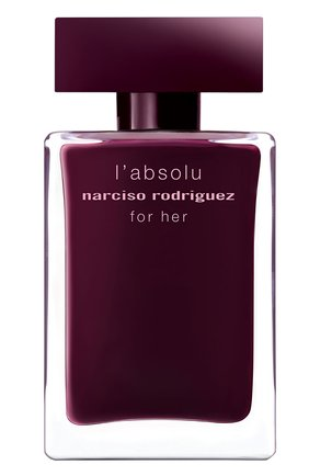 Женский парфюмерная вода for her absolu NARCISO RODRIGUEZ бесцветного цвета, арт. 892945BP   Фото 2