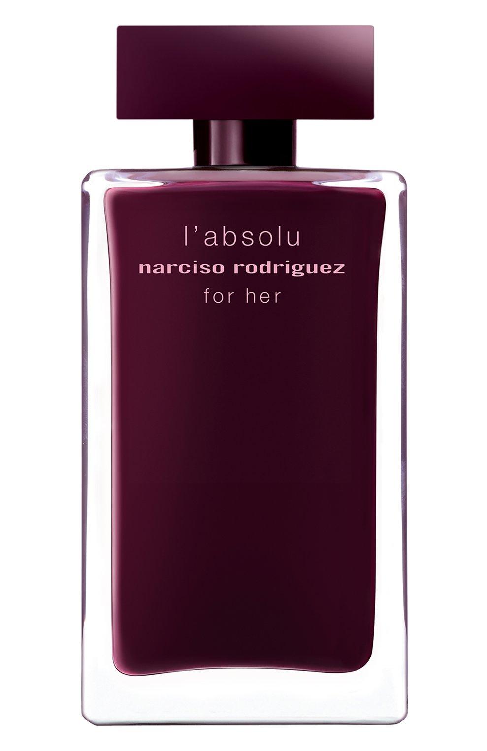 Женский парфюмерная вода for her absolu NARCISO RODRIGUEZ бесцветного цвета, арт. 892955BP | Фото 2