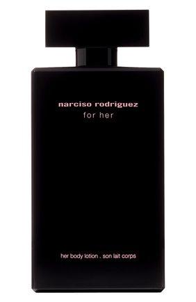 Лосьон для тела for her NARCISO RODRIGUEZ бесцветного цвета, арт. 890035BP   Фото 1