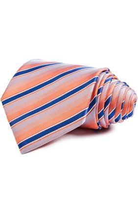 Мужской галстук BRIONI оранжевого цвета, арт. 062I/P5406 | Фото 1