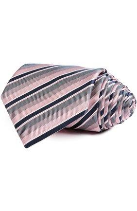 Мужской галстук BRIONI светло-розового цвета, арт. 062I/P5406 | Фото 1