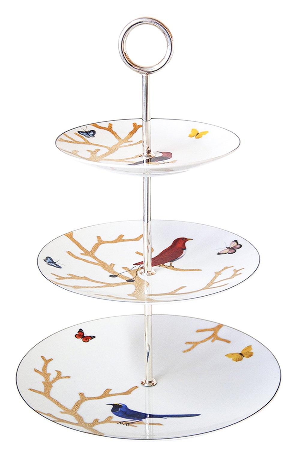 Мужского этажерка aux oiseaux BERNARDAUD бесцветного цвета, арт. 2488/21533   Фото 1