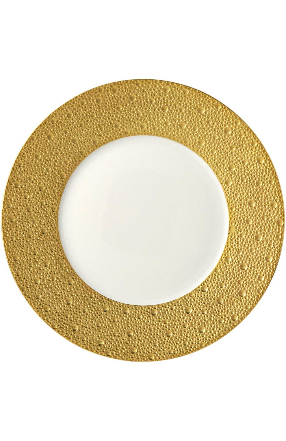 Тарелка обеденная Ecume Or Bernardaud    Фото №1
