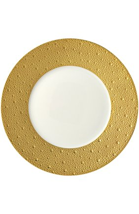 Тарелка обеденная Ecume Or | Фото №1