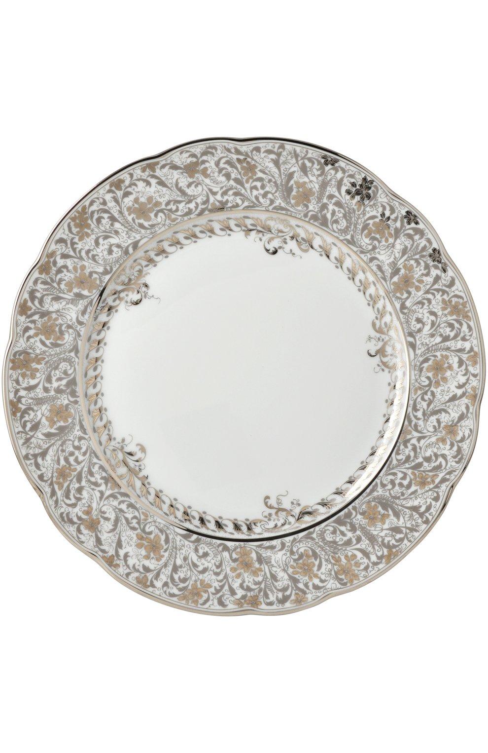 Мужского тарелка для хлеба и масла eden platine BERNARDAUD бесцветного цвета, арт. 0158/3 | Фото 1