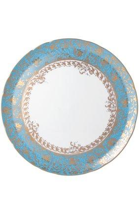 Блюдо круглое глубокое Eden Turquoise | Фото №1