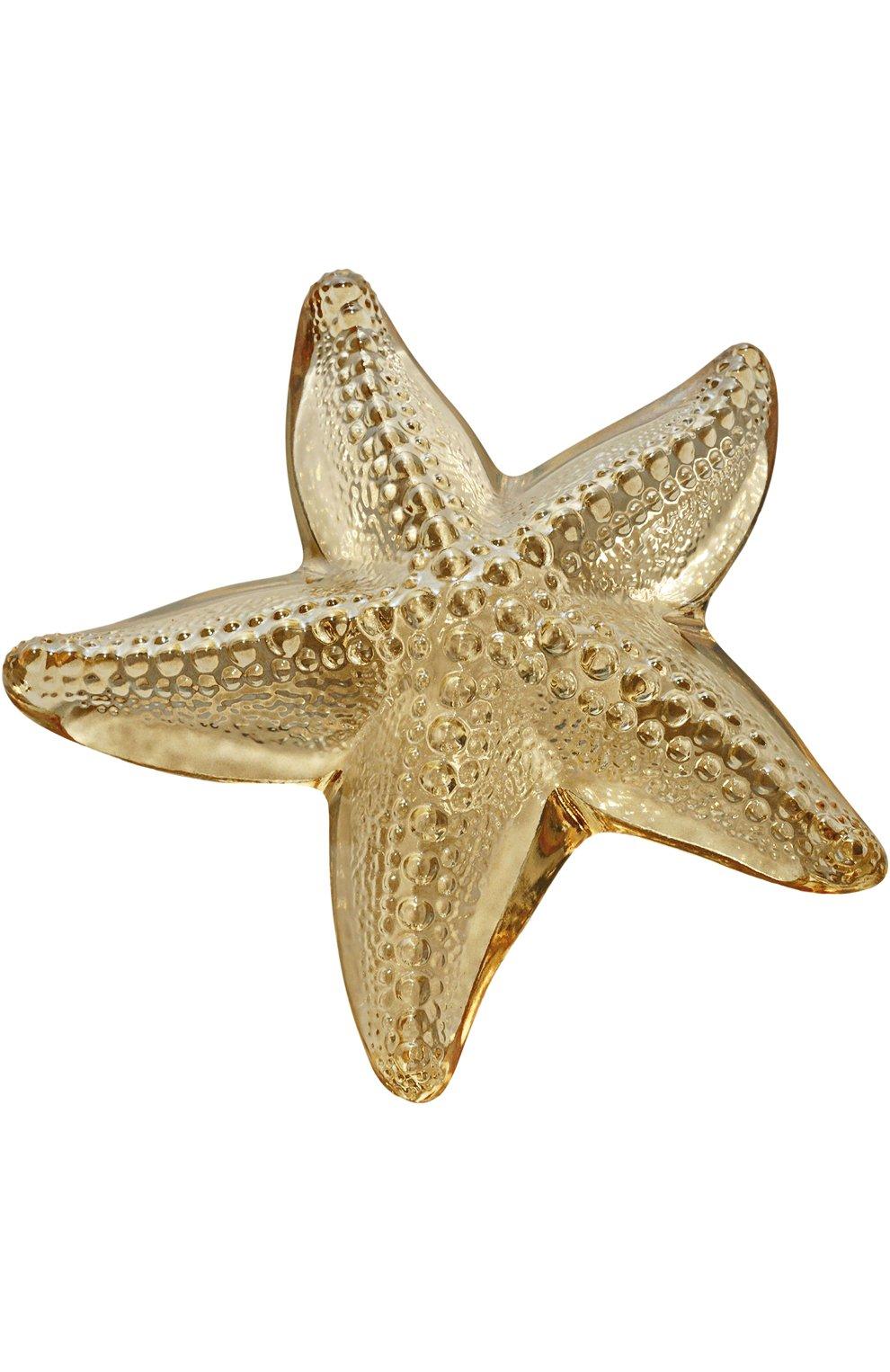 Мужского пресс-папье oceania LALIQUE бесцветного цвета, арт. 10372100   Фото 1