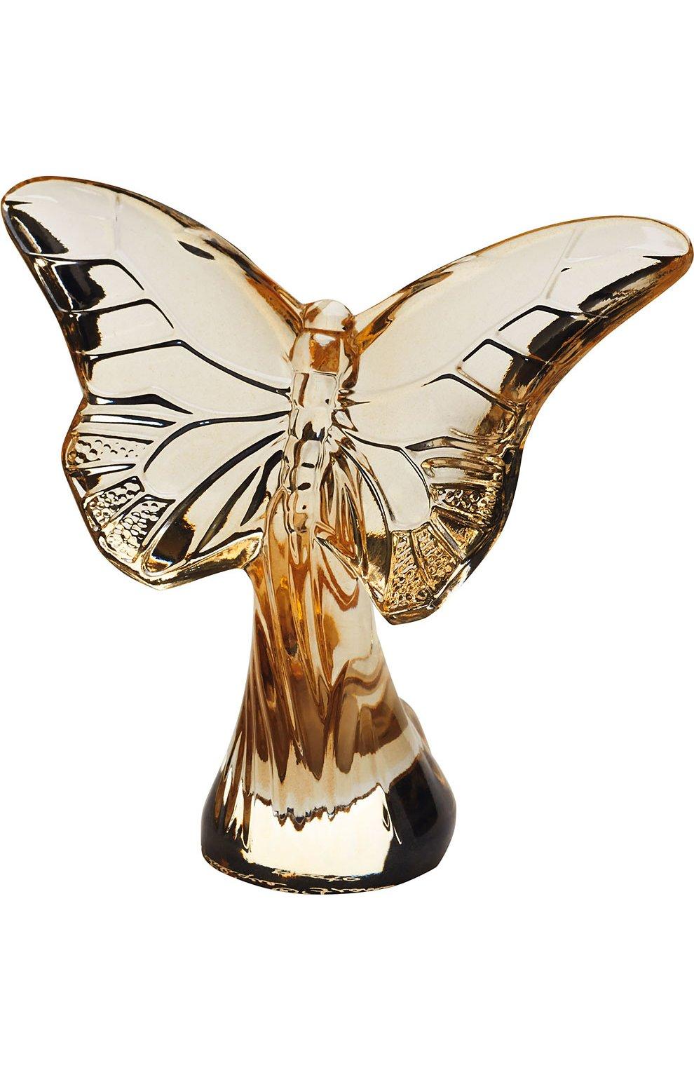 Мужского скульптура butterfly LALIQUE бесцветного цвета, арт. 10370700 | Фото 1