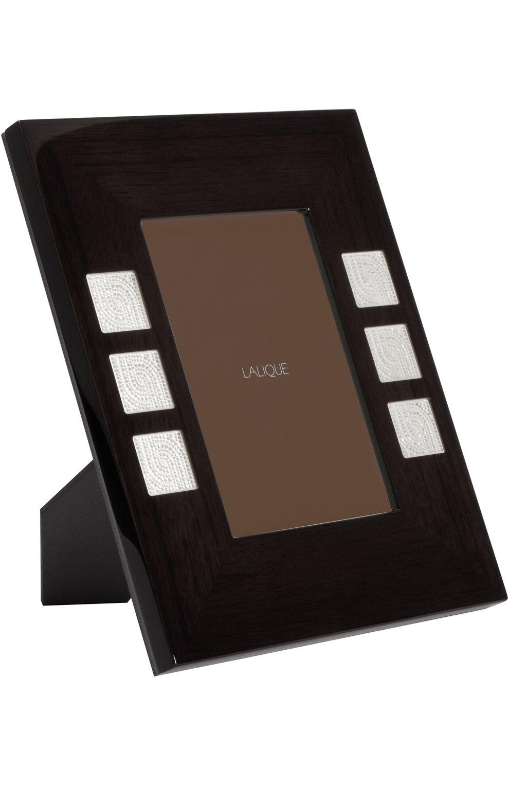 Мужского рамка для фото perles LALIQUE бесцветного цвета, арт. 10447100   Фото 1