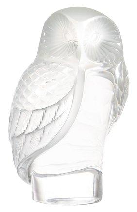 Мужского пресс-папье owl LALIQUE бесцветного цвета, арт. 1181500 | Фото 1