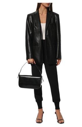 Женские джоггеры из вискозы STELLA MCCARTNEY черного цвета, арт. 341416/SCA06 | Фото 2