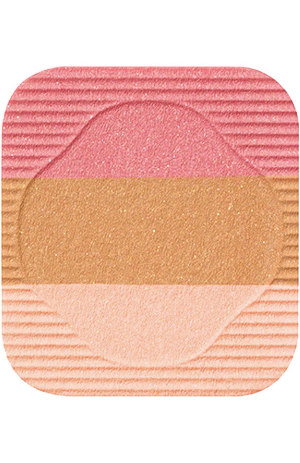 Женские румяна-трио с шелковистой текстурой и эффектом сияния rd1 SHISEIDO бесцветного цвета, арт. 11006SH | Фото 2