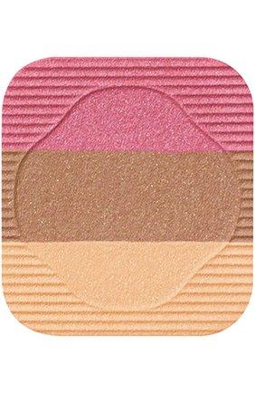 Женские румяна-трио с шелковистой текстурой и эффектом сияния rs1 SHISEIDO бесцветного цвета, арт. 11007SH | Фото 2