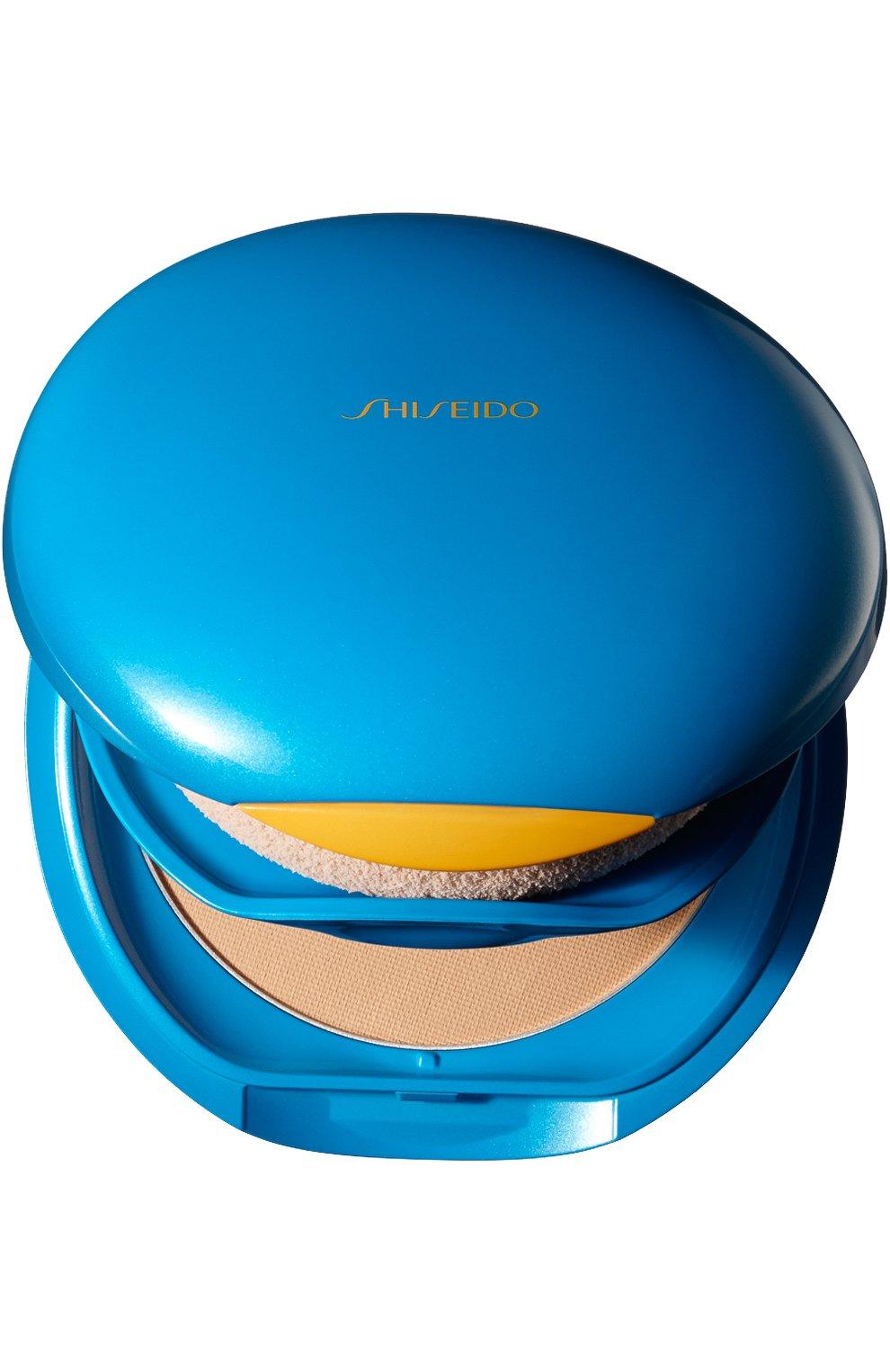 Женское солнцезащитное компактное тональное средство suncare spf 30 SHISEIDO бесцветного цвета, арт. 11193SH | Фото 1