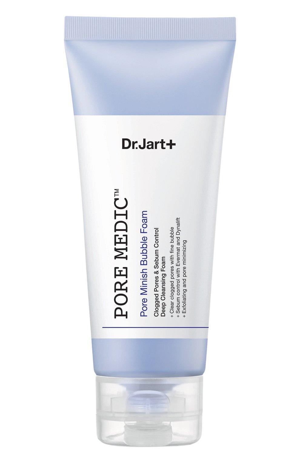 Женского себерегулирующая пенка для умывания всех типов кожи pore medic DR.JART+ бесцветного цвета, арт. 8809380642891 | Фото 1