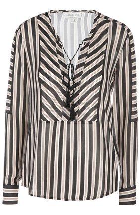 Женская блуза Rachel Zoe, цвет черно-белый, арт. 31R16T14 в ЦУМ   Фото №1